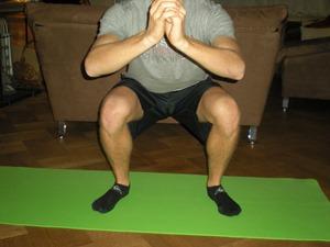 squat face