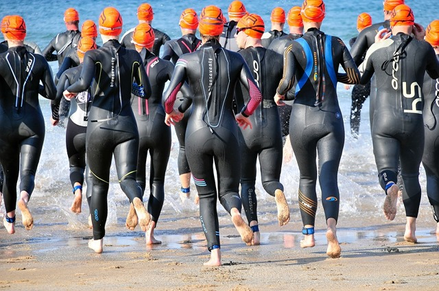 distances triathlon