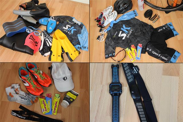 matériel de triathlon