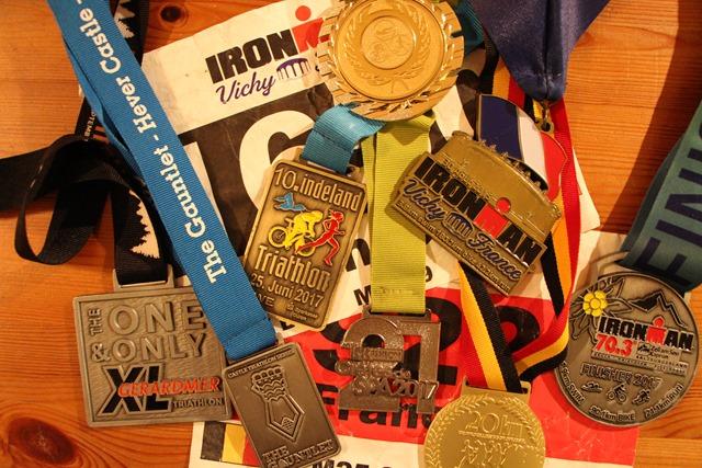 Combien de courses par an ou par saison en triathlon