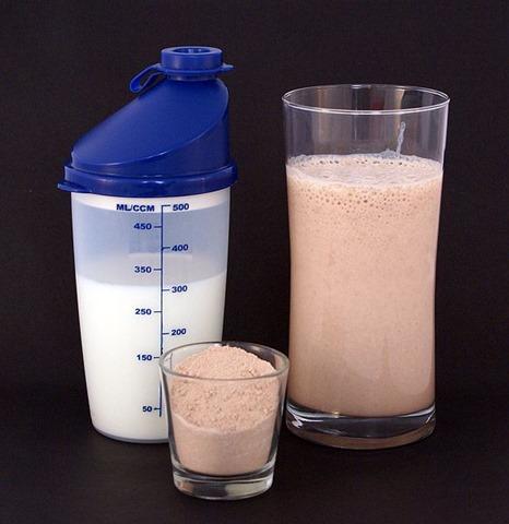 shake protéines Sandstein