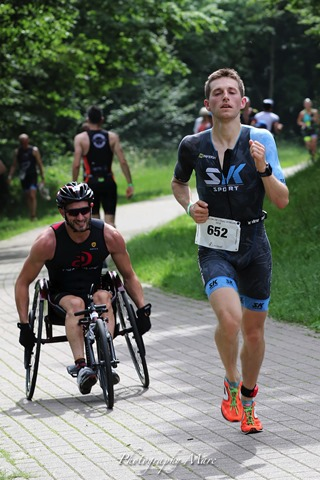 Triathlon des Lacs de l'Eau d'Heure 1