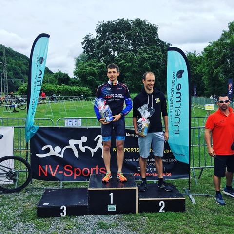podium triathlon sprint wanze 2018