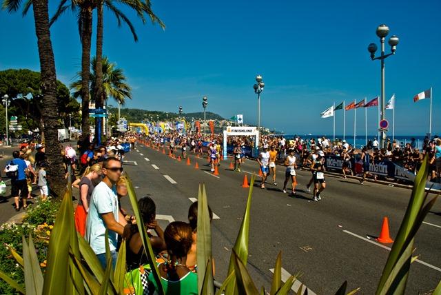 Ironman Nice France parcours course à pied